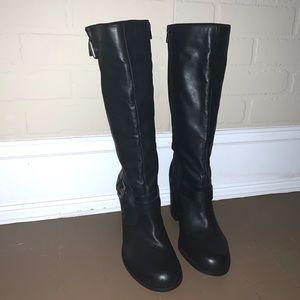 Jessica Simpson Boots Torta block heel black 11